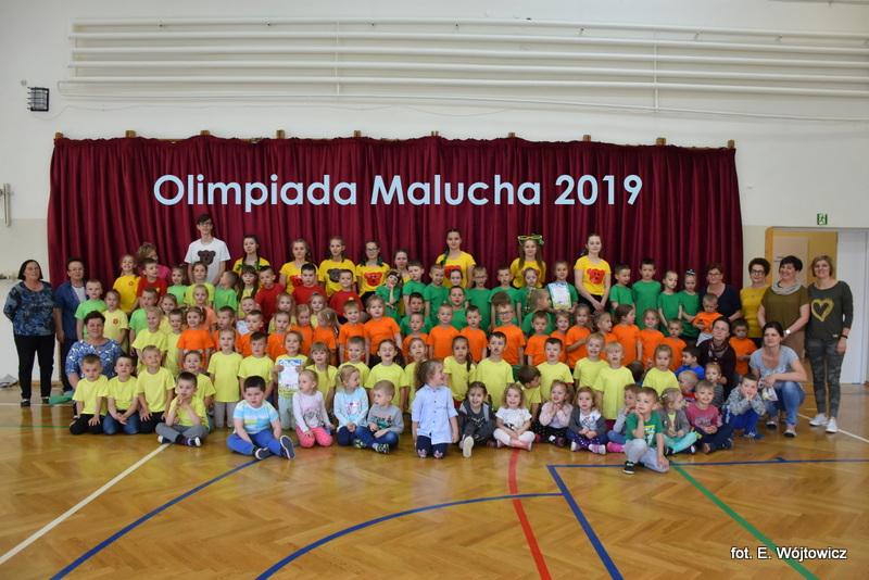 Olimpiada Malucha- turniej sportowy