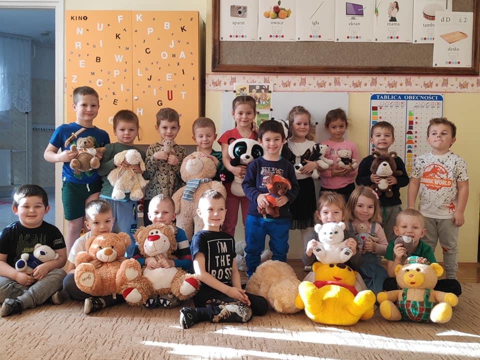 Światowy Dzień Pluszowego Misia w naszym przedszkolu