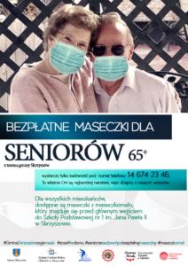 Maseczki dla seniorów